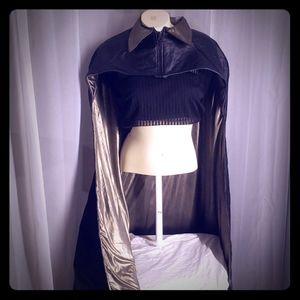 Halloween Costume   DC Comics Black Cape Cloak